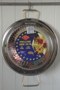 El Cid 34cm anti-rust Paella pan